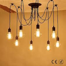 <b>Modern Nordic</b> Vintage Retro Edison Bulb Light Antique Adjustable ...