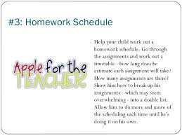 Homework   How to Get Your Kids to Take Responsibility for It        Homework Schedule Help