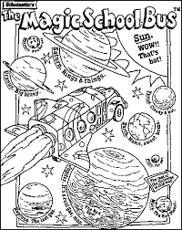 Small Picture Magic school bus coloring 2nd grade Pinterest Magic school