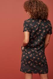 Купить Платье-футболка из смесового льна на сайте Next: Россия