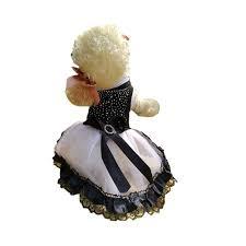 2019 <b>Cute Princess Rhinestones Skirt</b> For Dogs Birthday Party Black ...