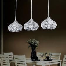 dinggu modern 3 lights crystal pendant lighting ceiling chandelier lamp for kitchen amazoncom ceiling pendants lighting