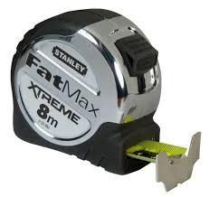 """<b>Рулетка Stanley</b> """"<b>Fatmax</b>"""", цвет: серый, 8 м х 32 мм — купить в ..."""