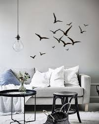 Metal Wall Art Flying Birds Home <b>Decor</b> Interior Sign Steel Office Gift ...
