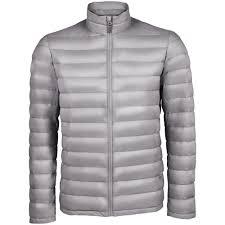 <b>Куртка мужская WILSON</b> MEN серая, размер 3XL оптом под логотип
