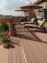 Outdoor Deck Design Ideas spacious and serene