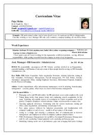 puja updated resume hr profile