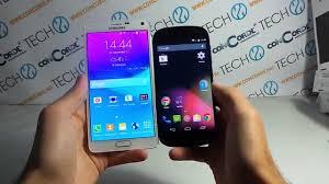YotaPhone 2 vs Galaxy Note 4 összehasonlító videó - YouTube