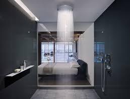 axor bathroom rustic lighting mirror