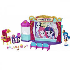 Hasbro My Little Pony C0409 <b>Equestria Girls</b> Игровой <b>набор мини</b> ...