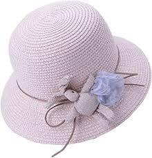 Amazon.com: Girls <b>Flower</b> Beach Sun Hats <b>Flower</b> Tea Party Hat ...