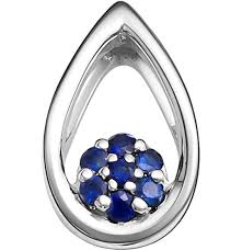 Золотой <b>кулон Vesna</b> jewelry 3198-251-10-00 c сапфиром ...