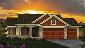 Ranch House Plans and Ranch Designs at BuilderHousePlans comRanch Style House   Plan HWBDO