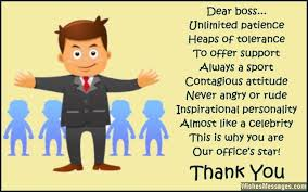 Thank You Notes for Boss: Messages to Say Thank You to Your Boss ... via Relatably.com