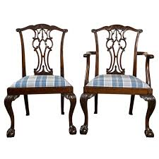 Chippendale Dining Room Table Chippendale Dining Room Chairs 73 For Sale At 1stdibs