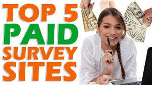 top 5 paid survey sites top 5 paid survey sites