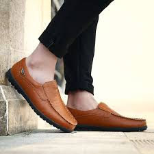 Genuine Leather <b>Men Casual Shoes</b> 2019 <b>Mens</b> Loafers Moccasins ...