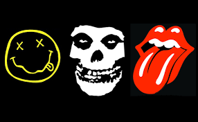The 50 most visually striking and iconic logos in the history of rock music featuring Nirvana, The Rolling Stones, My Chemical Romance, Foo Fighters, ... - RockBandLogos_608x376