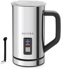 Secura <b>Automatic Electric Milk Frother</b> and Warmer 250ml Free ...