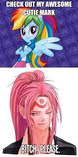 261563 - awesome cutie mark, baiken, equestria girls, exploitable ... via Relatably.com