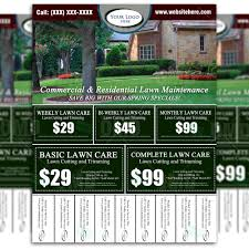 lawn care advertising flyers lawn care advertising flyers happy now tk