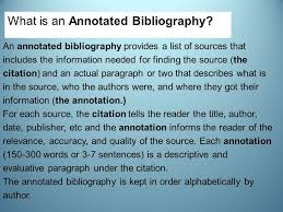 The Chinese Imperial Examination System  An Annotated Bibliography     Annotated bibliography     An annotated bibliography provides a brief account of
