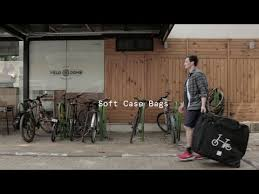 Folding bicycle bags review by Vincita - YouTube