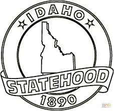Small Picture Idaho State coloring page Free Printable Coloring Pages