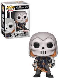 <b>Фигурка</b> Funko POP! Bobble: <b>Marvel</b>: <b>Avengers</b> Game: Taskmaster ...
