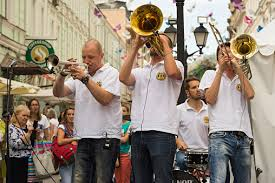 Cover Band <b>Brevis Brass Band</b> Stock Photo - Download Image Now ...