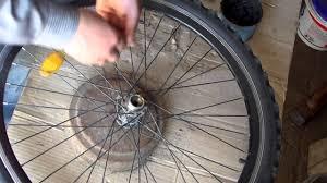 замена <b>подшипника заднего колеса</b> на спортивном велосипеде ...