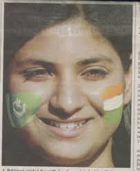'No nuclear test, no missile test, just test cricket' » A Pakistani Girl Promoting Peace between Pakistan and India - a-pakistani-girl-promoting-peace-between-pakistan-and-india