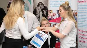 watch jobseeker offered a position on the spot at jobs fair at watch jobseeker offered a position on the spot at jobs fair at burton and south derbyshire college burton mail