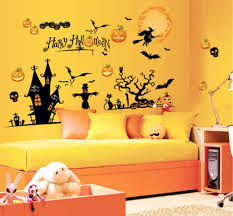 halloween gallery wall decor hallowen walljpg halloween  halloween decoration wall art kids room diy mural