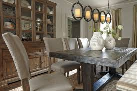 dining room table ashley furniture home: a wide scale light fixture such as our faux pillar chandelier can truly extend the