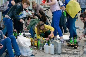Съемочная группа украинского телеканала попала под обстрел. Ранен водитель - Цензор.НЕТ 1614