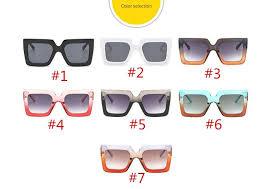 <b>NEW Arrival</b> Women Square Luxury <b>Sunglasses Oversize</b> Unique ...