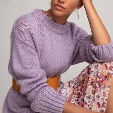 <b>Пуловер</b> с <b>круглым</b> вырезом из плотного трикотажа <b>La Redoute</b> ...