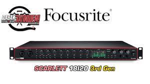 <b>Focusrite Scarlett 18i20</b> 3rd Gen - многоканальная звуковая карта ...