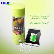 Rgknse Hand Shaking Home Appliances Portable Car Usb Juicer ...