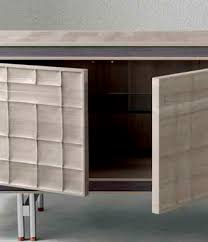 Contemporary sideboard - A-613 - Dale Italia - <b>wooden</b> / <b>brown</b> / <b>beige</b>