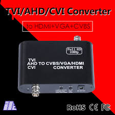 Newest 1080P HD <b>TVI</b>/<b>AHD</b>/<b>CVI</b> To <b>CVBS</b>/<b>VGA</b>/<b>HDMI</b> Video ...