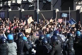 Risultati immagini per scontri a bologna 8 novembre