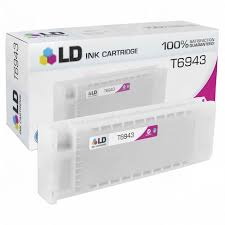 Remanufactured <b>Epson T6943 Magenta</b> Ink - LD Products
