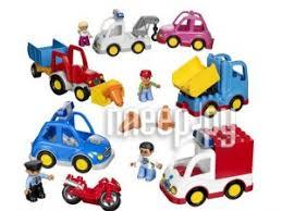 Купить <b>Конструктор Lego Duplo Муниципальный</b> транспорт ...