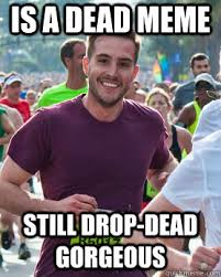 Is a dead meme still drop-dead gorgeous - Ridiculously photogenic ... via Relatably.com