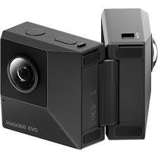 <b>Экшн</b>-<b>камера Insta360 EVO</b> 3D/2D конвертируемая 360/180° VR ...