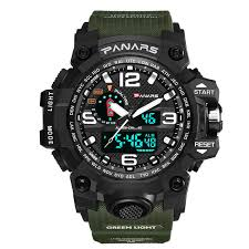 Watch <b>Men</b> Military Sport SYNOKE Brand <b>Men Dual Display</b> ...