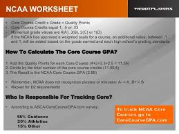The usa-college-recruiting-process... 28. NCAA WORKSHEET ...