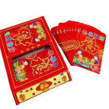 <b>Chinese</b> Angpao Red Envelope Ang Pao Per <b>Box 100pcs</b> | Shopee ...